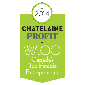 Chatelaine Profit W100 - Top Female Entrepreneur - Corrin Harper - Insightrix