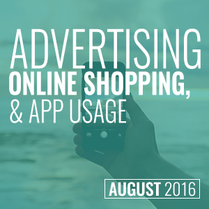 Advertising, shopping & apps