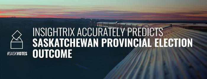 Insightrix Accurately Predicts Saskatchewan Provincial Election 2016