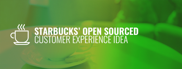 CX, starbucks, customer experience, CM, market research, open source