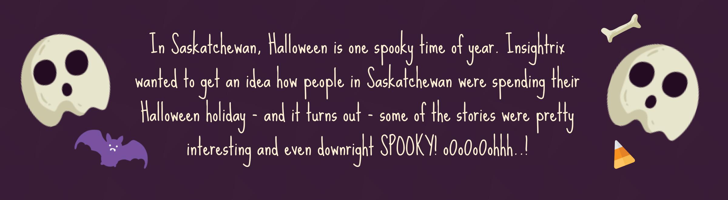 Insightrix Halloween Market-Research Saskatchewan SK Sask