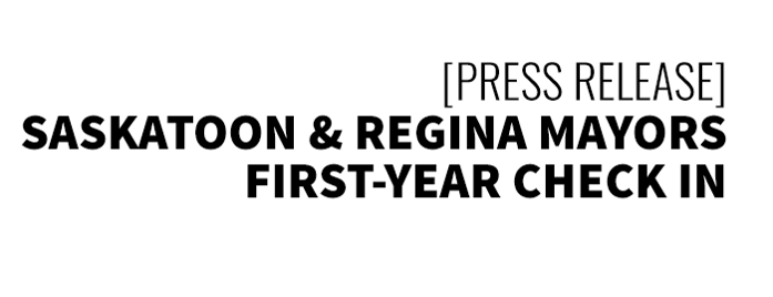 press-release-Saskatoon & Regina Mayors