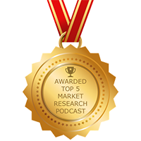 Award Top 5 Market Research Podcast - Insightrix Research