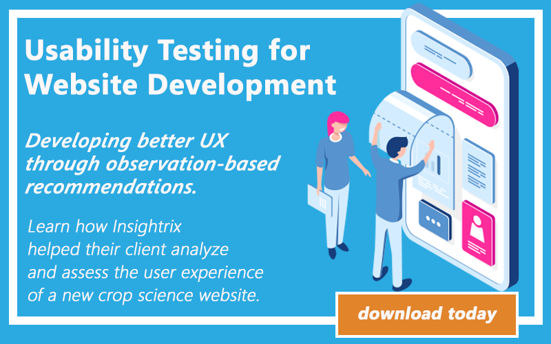 Usability Testing, Insightrix UX