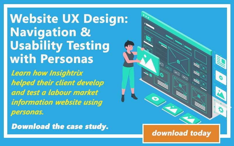 Insightrix Website UX Design, Insightrix Research